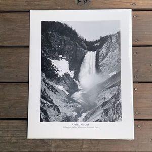 Ansel Adams Yellowstone Falls photography print